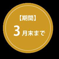 【期間】1月末まで